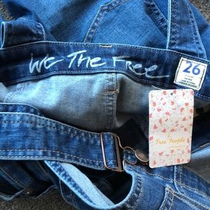 Free People Jeans - Free People Carly Flare Overall